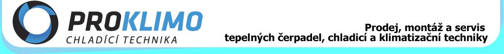 PROklimo - tepelná čerpadla, kotlikové dotace, klimatizace, potravinářské chlazení, chladicí a mrazicích boxy - prodej, montáž, servis - Zlín, Brno, Olomouc, Morava